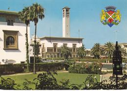 Casablanca - Place Des Nations-Unies Et Armoiries De La Ville - Casablanca