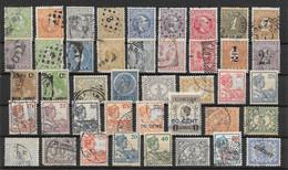 Inde Néerlandaise Lot De 42 TP 1870-1931 O - Indes Néerlandaises