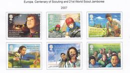 Great Britain 2007 Europa. Centenary Of Scouting And 21st World Scout Jamboree - Gebruikt