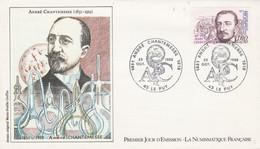 FDC 1982 ANDRE CHANTEMESSE - 1980-1989