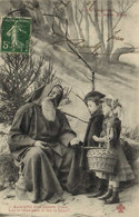 La Legende Du Père Noel Ayez Pitié D'un Pauvre Vieux La Et Sans Pain Ni Feu Ni Lieux ! Enfants  Recto Verso - Andere