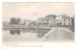 STONY CREEK - Scene Along The Water Front - - Otros