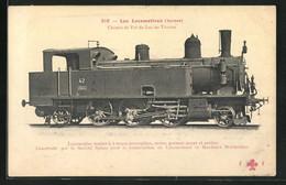 AK Chemin De Fer Du Lac De Thoune, Schweizer Eisenbahn - Trenes