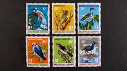 Comores - Série Oiseaux YT N° 63 - 64 - 65 - 66 - 67 - 68 * Neufs Avec Charnière - 10 % De La Cote - Unused Stamps
