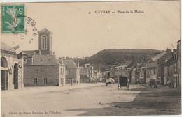 CPA 50   GAVRAY  PLACE DE LA MAIRIE - Otros Municipios