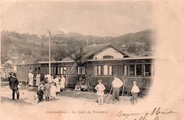 CORAVILLERS  La Gare Du Tramway - Sonstige Gemeinden