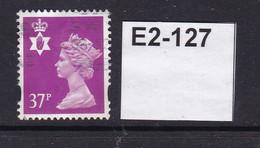 Great BritainNorthern Ireland Machin Definitive With Eliptical Perforation 37p - Noord-Ierland