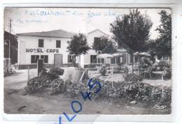 81 TEILLET ( Tarn ) HOTEL CAFE RESTAURANT M. BARTHE Tél. 14 Station Service - Animé - CPSM Au Dos Facture Vierge - Andere Gemeenten