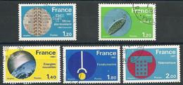 FRANCE - Année 1981 - Y&T N° 2126 à 2130 Oblitéré TTB - VOIR DESCRIPTION - Oblitérés