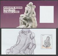 "FR Bloc Souvenir YT 137 "" Auguste Rodin "" 2017 Neuf Sans Blister - Souvenir Blocks & Sheetlets"