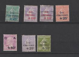 FRANCE.  Caisse D'amortissement  Petite Collection Obl Et (*) - Usados