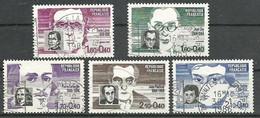 FRANCE - Année 1984 - Y&T N° 2328 à 2332 Sauf 2330 Oblitéré TB - Oblitérés