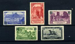 Marruecos Español Nº 162/66. Año 1936 - Spanish Morocco
