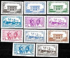Martinique - Yvert Nr. 175/185 - Michel Nr. 176/186 ** MNH (neuf Sans Charnières) - Nuovi