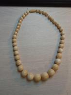 Collier Ancien De Perles - Pulseras