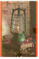 Fantaisie. Bonne Année. Lampe à Pétrole. Oblitération Bomal-sur-Ourthe 24.12.75. - Andere