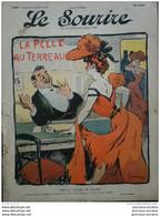1905 LE SOURIRE - CARICATURE - Jules GRÜN ( Petite Femme De Revue ) - HAYE  ( Le Marchand De Sable ) - Collezioni