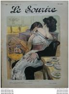 1905 LE SOURIRE - CARICATURE - GOTTLOB ( Serment D'amour ) - ALEX ( Militaire Visite Médicale ) - Collezioni