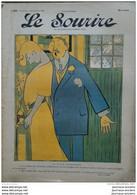 1905 LE SOURIRE - CARICATURE - Paul IRIBE ( La Triste Contatation) - Ricardo FLORÈS ( Fidélité ) - Collezioni