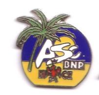 S201 Pin's Banque Bank ASC BNP NICE Avec Palmier Aigle Version Qualité Egf Achat Immédiat - Banks