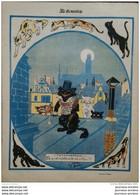 1906 LE SOURIRE - CARICATURE - NAM ( Métamorphose - Chats ) - Paul IRIBE ( Simple Raison ) - Collezioni