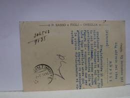 ONEGLIA  -- IMPERIA  --   P. SASSO  & FIGLI - Imperia