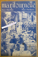 """""""Maritournelle"""" Du Film """"Fièvres"""" Le Grand Succès De Tino Rossi 1943 - Collezioni"""
