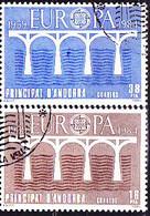 Andorra [span.] - Europa (Mi.Nr.: 175/6) 1984 - Gest. Used Obl. - 1984