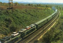 TRAIN AUTOS COUCHETTES Railways Voiture  Car - Trenes