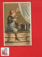 Chromo Dorée Enfant Outils Cordonnier Clous Chapeau Coucou - Sonstige