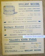 H. Oerlemans, Keizerstraat, Antwerpen, Brillant Niccohl, , Polish, Boenwas Cérès, Paraffine,... - Collezioni