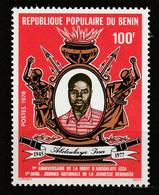 BENIN - N°411 ** (1978) - Benin – Dahomey (1960-...)