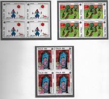 EUROPA, 1989 Serie In Quartina** - 1981-90: Neufs