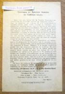 Vereeniging Katholieke Studenten Der Technische Scholen, Vergadering In Den Rooden Hoed, Bier & Sigaren, Gent Ca 1927 - Collezioni
