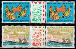BENIN - N°448/9A ** (1979) Philexafrique II - Benin – Dahomey (1960-...)