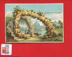 Jolie Chromo Exposition Universelle De Paris 1878 Rocher Escalier Roche - Sonstige