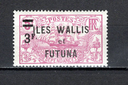 WALLIS ET FUTUNA N° 37       NEUF AVEC CHARNIERE COTE 9.00€    BATEAUX - Nuevos