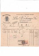45-L.Deschamps...Distillateur-Liquoriste...Jargeau...(Loiret)....1927 - Altri