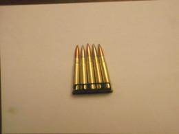 Lame Chargeur Garnie De Ses Munitions Calibre 303 British - Decotatieve Wapens