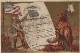 CHROMO LEGATION UNITED STATES OF AMERICA - Sonstige