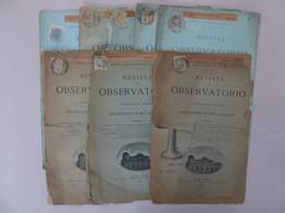 Timbres Sur 8 Documents, Lyon Pour Rio De Janeiro 1889 / 1891 - Lettres & Documents