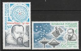 BENIN - N°520/1 ** (1980) J.Kepler - Benin – Dahomey (1960-...)