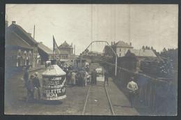 +++ Photo Carte - BASTOGNE - Voiture De Course - Auto - Automobiles - Circuit Des Ardennes - 1907 - RR !  // - Bastogne