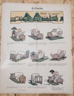 1913 Journal SOURIRE - POT DE CHAMBRE - Marcel CAPY SAVOIR SE COUCHER - 1900 - 1949