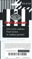 CARTE CADEAU - Foot Locker - Gift Cards