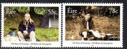 Ireland 2007 Europa Centenary Of Scouting Set Of 2, MNH, SG 1840/1 - Neufs