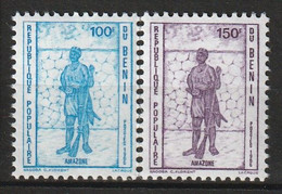 BENIN - N°640/1 ** (1986) L'Amazone - Bénin – Dahomey (1960-...)