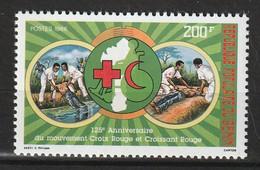 BENIN - N°658 ** (1988) Croix Rouge - Benin – Dahomey (1960-...)