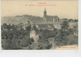 CRANSAC - La Vieille Eglise Et Parc Roques - Andere Gemeenten