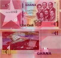 GHANA       1 Cedi       P-New        4.3.2019       UNC - Ghana